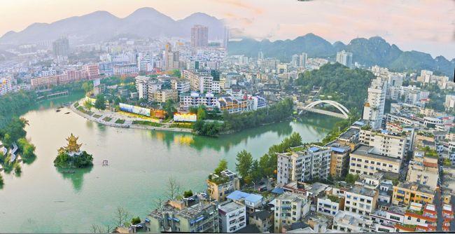 发展中的铜仁城